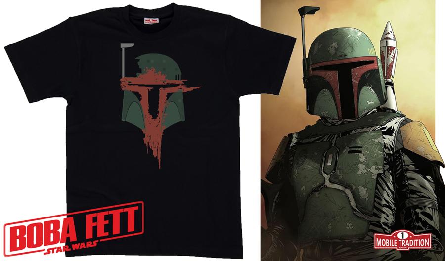 Купить футболку Боба Фетт Звездные войны