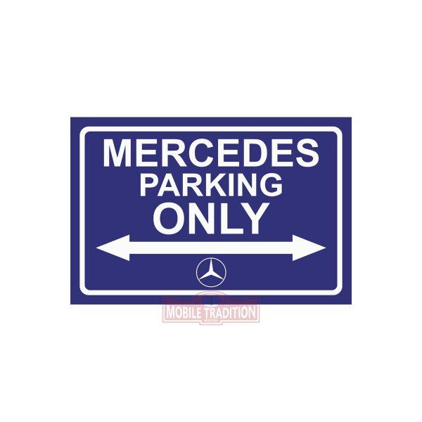Купить табличку Mercedes Parking Only