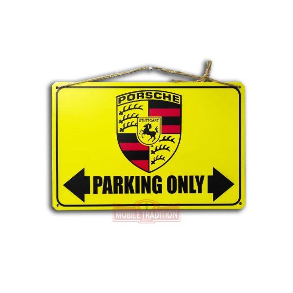 Купить табличку Парковка только для Porsche
