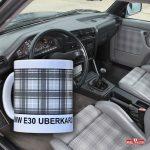 BMW interior – material Uberkaro