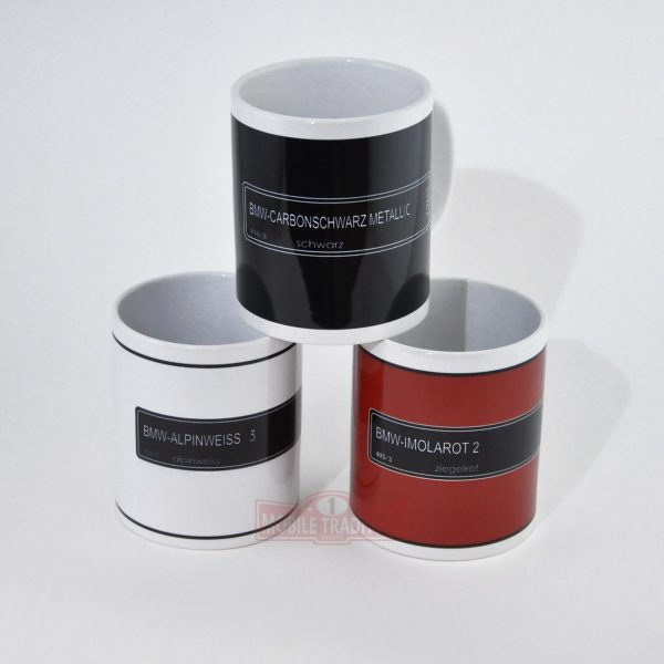 Чашки с цветами БМВ